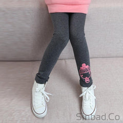 Girls Warm 2017 New Winter Legging