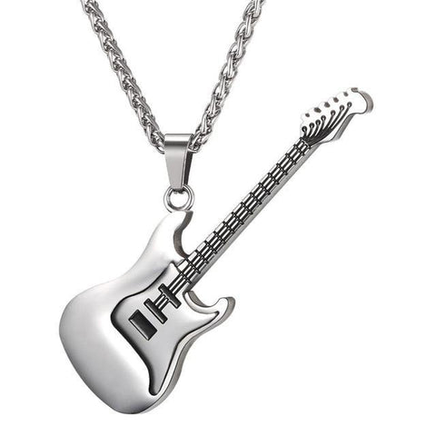 Guitar Necklace For Men/Women Music Lover Gift-Sinbadco