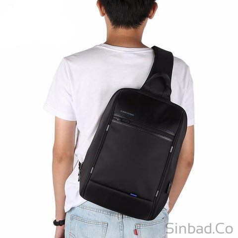 High Capacity Casual Crossbody Bag For Short Trip-Bags-Sinbadco