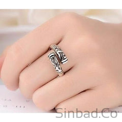 Hot Retro Thai Silver Ring