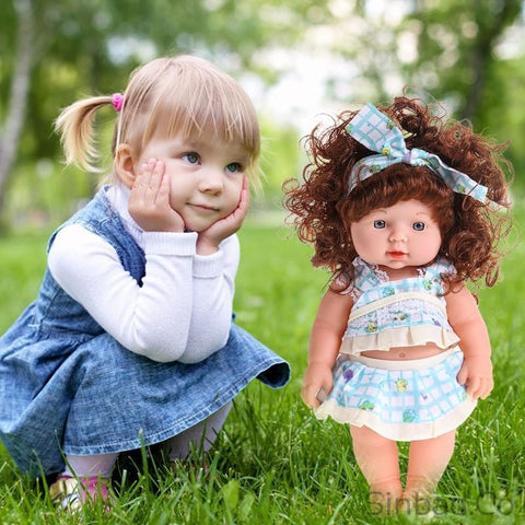 Infant Reborn Baby Soft Vinyl Lifelike Speaking Doll-doll-Sinbadco