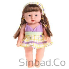 Infant Reborn Baby Soft Vinyl Lifelike Speaking Doll