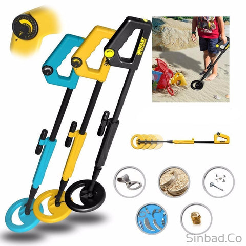 Junior Metal Detector High Sensitive Treasure Hunter-Sinbadco
