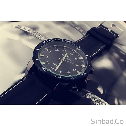 Korean Style Sport Large Dial Student Watch-Sinbadco