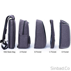 Large Smart Anti Theft Business Laptop Backpack