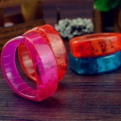 Lovely 7 Color Led Flash Bracelet Sound Controlled