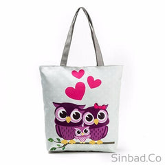 Lovely Owl Casual Tote