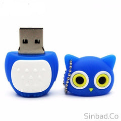 Lovely Owl Flash Drive 4-8-16-32-64GB
