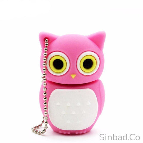 Lovely Owl Flash Drive 4-8-16-32-64GB-Memory card-Sinbadco