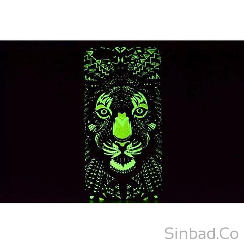 LUMINOUS IPHONE 7 6 6S PLUS 5 5S GLOW IN THE DARK CASE-Sinbadco