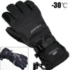 Image of Men's Ski Fleece Snowboard Windproof Waterproof Unisex Snow Gloves-Sinbadco
