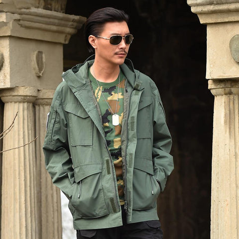 Military Field Jacket for men-Sinbadco