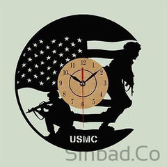 Modern Wall Clock Creative Veteran Gift
