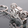 Image of Motorcycle Silver Key Ring Chain-Sinbadco
