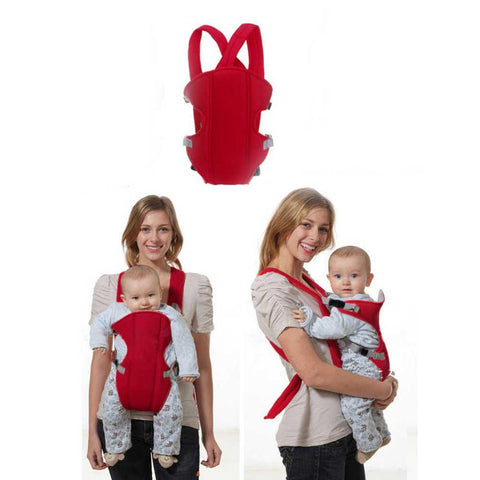 Multifunctional Front Facing Baby Carrier - 3D Mesh Comfortable Sling for 2-30M-Sinbadco
