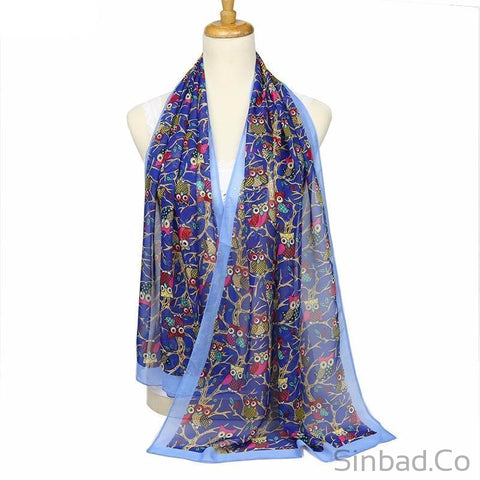 New Fashion Owl women Scarf-scarf-Sinbadco