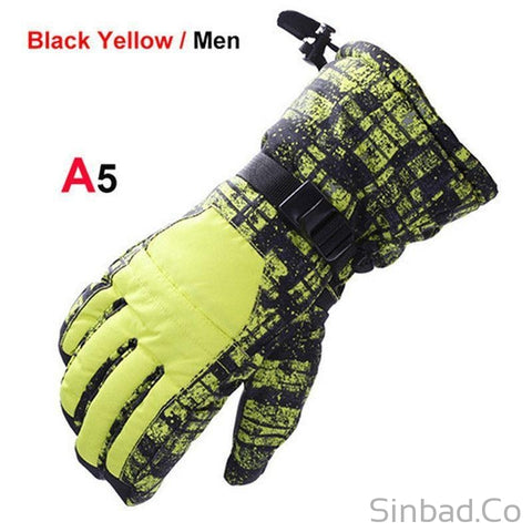 New Wind+Waterproof Gloves-Skiing-Sinbadco
