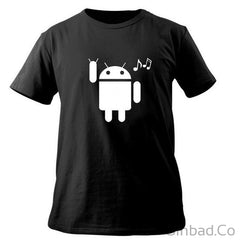 Nifty Cool Android & Ios Printed T-Shirt