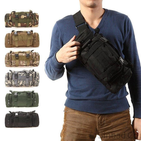 Outdoor Tactical Waist Pack-Backpack-Sinbadco