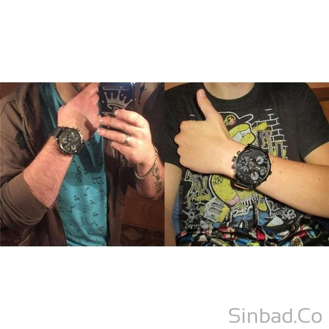 Oversized Men's Watch-Sinbadco