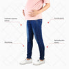 Image of Pregnant Women Elastic Stretchy Cotton Jeans-Sinbadco
