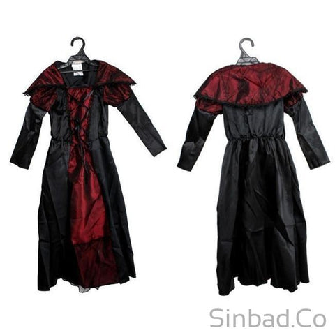 Princess Vampire Costume Dress-Dress-Sinbadco
