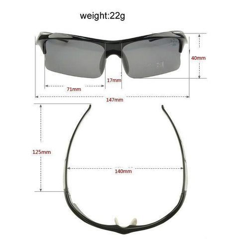 Professional Polarized Cycling Glasses-Sinbadco