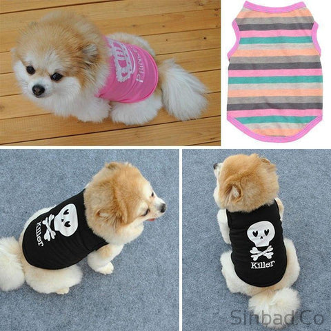 Puppy & Cat Clothes-Sports Clothing-Sinbadco