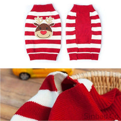 Reindeer Pet Knitted Warm Pullover Sweater
