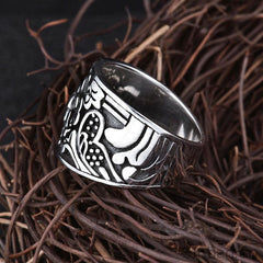 Romantic Flower S925 Solid Thai Silver Ring