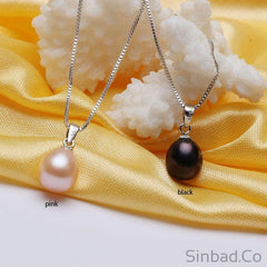 Romantic Natural Black Pearl-Fine Jewelry-Sinbadco