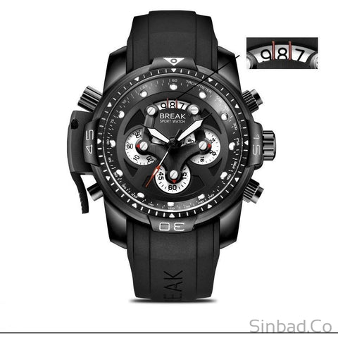 Sharp Military Style Waterproof Men's Watch-WATCHES-Sinbadco