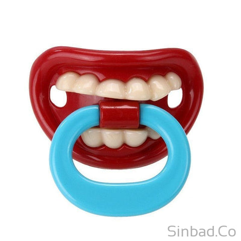 Silicone Funny Baby Pacifier-baby-Sinbadco