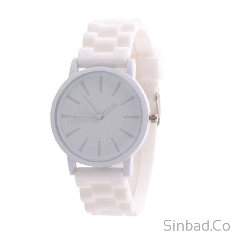 Silicone Rubber Wrist Watch-WATCHES-Sinbadco