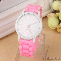 Silicone Rubber Wrist Watch