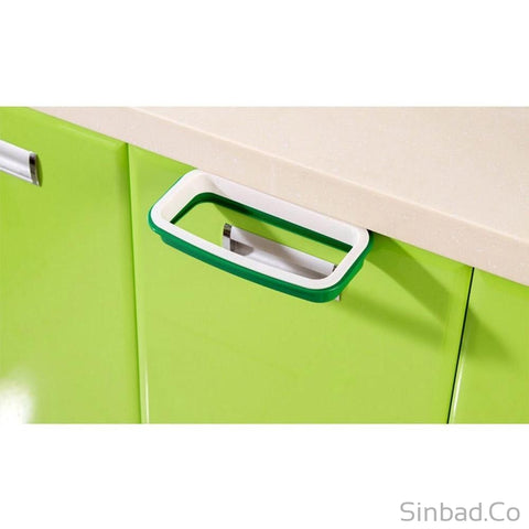 Solid Hanging Kitchen Cabinet Trash Rack-Sinbadco