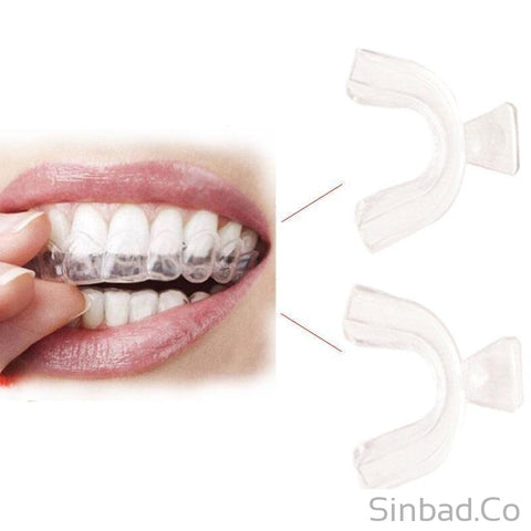 THERMOFORMING DENTAL TEETH WHITENING TRAYS (2 Pairs) - Brighten Your Smile All Day Long-Sinbadco