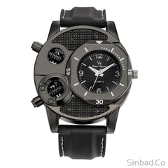 Thin Silica Gel Men's Sports Quartz Watch-Sinbadco