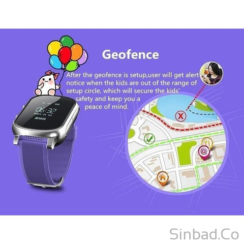 Top quality Smartwatch with SOS Remote Monitor For Kids-smartwatch-Sinbadco