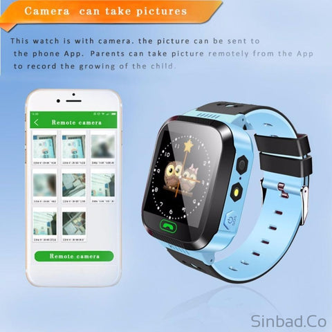 Touch Screen Gprs Tracker Anti-Lost Smartwatch With Remote Camera Sim Calls-smartwatch-Sinbadco