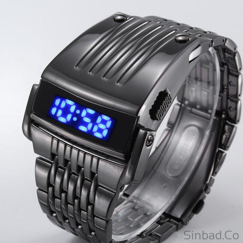 Unique Iron Man's Steel Watch-Sinbadco