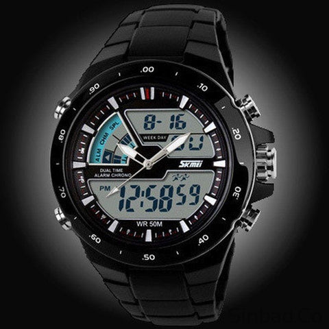 Waterproof Sports Electronic Wristwatch-WATCHES-Sinbadco