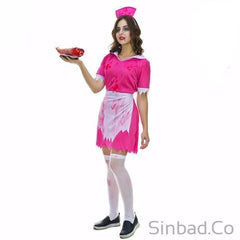 Women'S Zombie Nurse Costumes For Scary Bloody