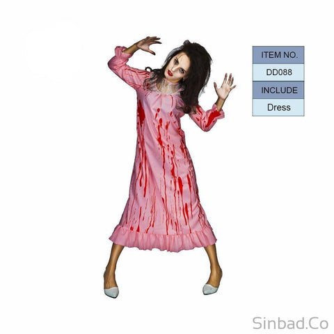 Women'S Zombie Nurse Costumes For Scary Bloody-Sinbadco
