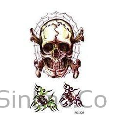 Wound Realistic Blood Injury Scar Tattoo Sticker-Tattoo-Sinbadco