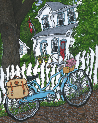 Thornhill Bicycle Print