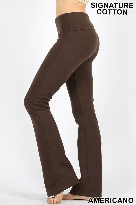 Yoga Pant, Americano (Deep Brown)
