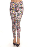 Leggings- Pink Leopard (full-length)