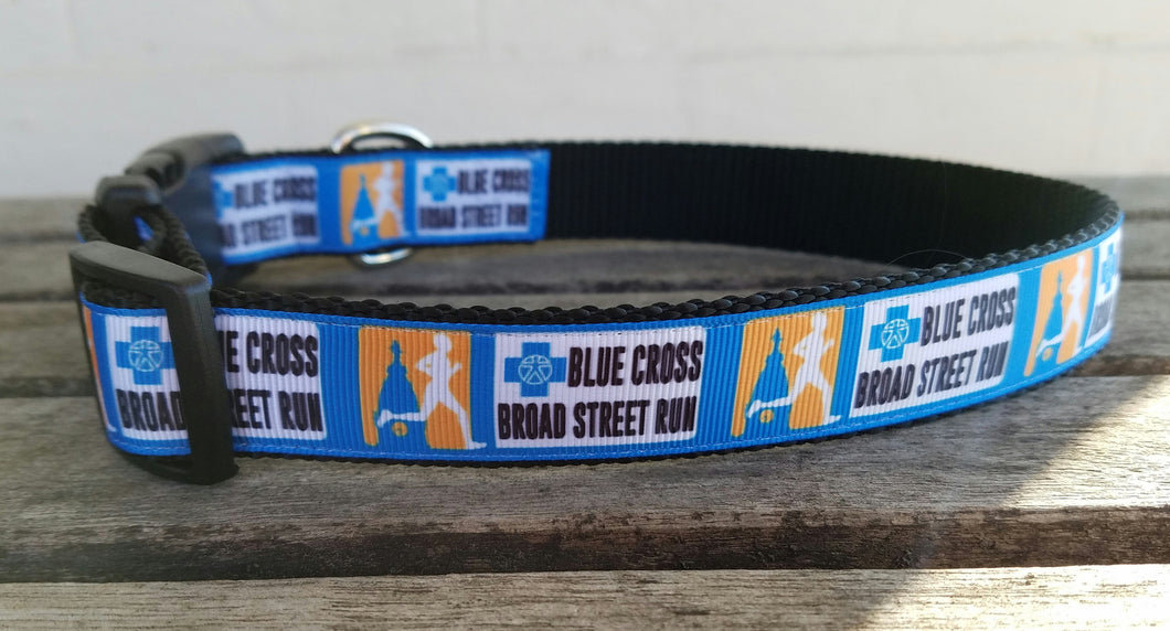 Blue Cross Broad Street Run Dog Collars