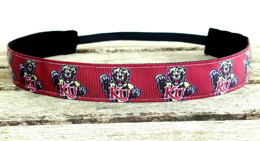 Kutztown Golden Bear Nonslip Headbands